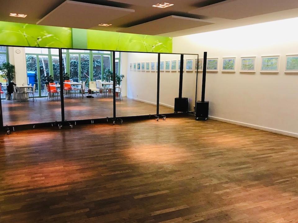 Cafeteria Tango Unterricht Raum von Urquiza und Kurse für Tango Berlin in Berlin Prenzlauer Berg