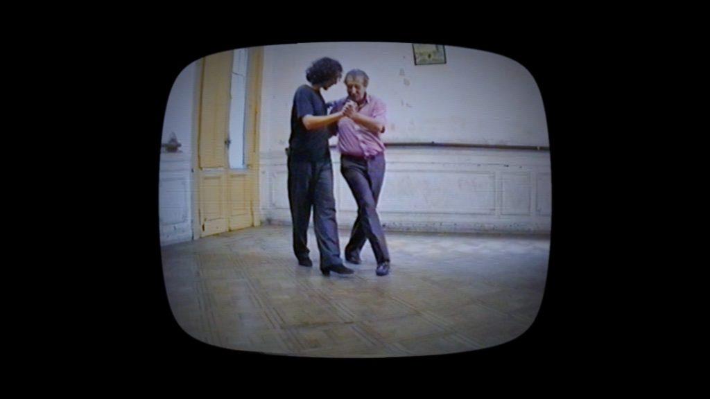 Con el Tango eine Urquiza Dokumentarfilm Scene mit Chiche Núñez und El Turco José Brahemcha in Buenos Aires